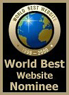 World's Best Webpages Nominee