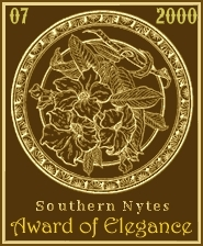 Southern Nytes' Award of Elegance